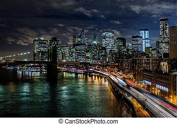 nuevo, señales, york