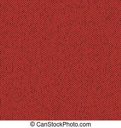 nuevo, tela roja