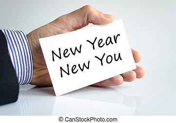 nuevo, usted, concepto, año, texto