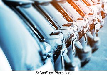 nuevo, vehículos, en, acción