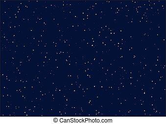 nuit, étoilé, sky., seamless