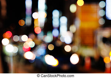 nuit, tokyo, rue