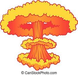 nuke, explosão