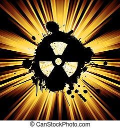 nuke, grunge, sinal