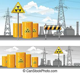 nukleáris, terület