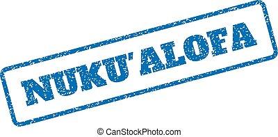 Nuku'Alofa Rubber Stamp