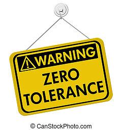 null, warnung, toleranz, zeichen
