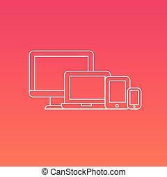 numérique, électronique, appareils