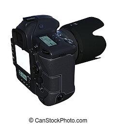 numérique, appareil-photo slr