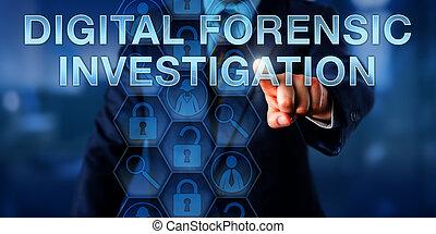 numérique, légal, urgent, investigation, examinateur