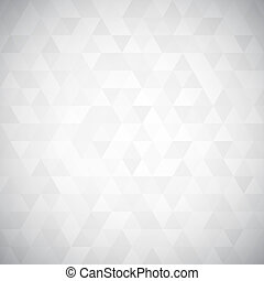 numérique, triangle, pixel, mosaïque