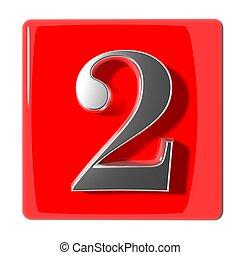 numéro deux, icône