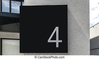 numéro quatre