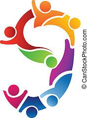Number 9 Teamwork logo