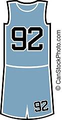 number 92 in basket shirt design - Creative design of 92 in...