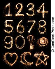 Number alphabet