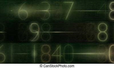 number data