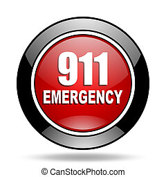 number emergency 911 icon
