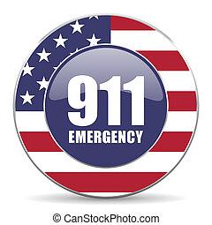 Number emergency 911 usa design web american round internet...