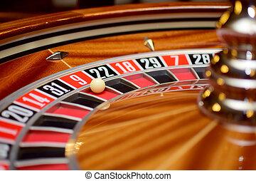 number nine roulette