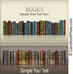 Number of books - Number of new books on white & text,...