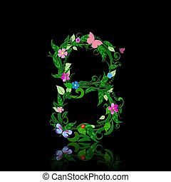 number of flowers