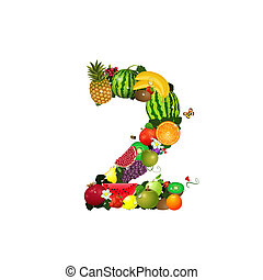 Number of fruit 2