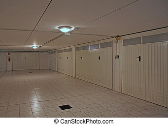 garage doors for cars in the basement - number of garage...