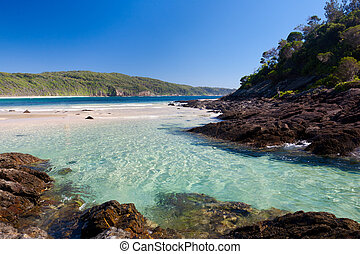 Number One Beach, Myall Lakes National Park, New south Wales...