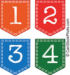 Number Set. - A collection of numbers from a number...