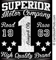 Number typography, t-shirt graphics, vectors, sport,