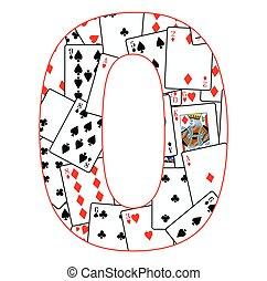 Number Zero Cards