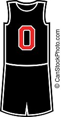 number zero in basket shirt design - Creative design of zero...