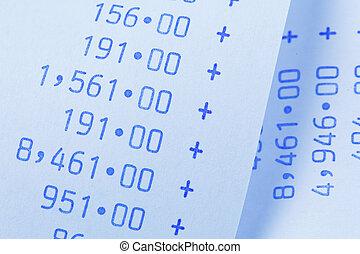 numbers., computational, costi, zebrato, profits., spese, introiti