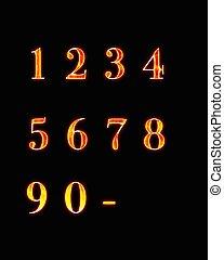 numbers., démon