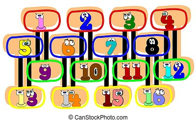 numbers for kids to learn with
