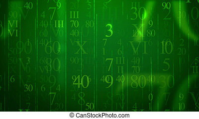 Numbers in Holographic Cyberspace - A volumetric 3d...