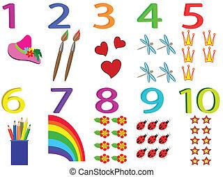 Numbers, set