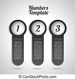 numbers template