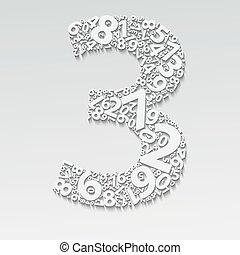 Numbers three