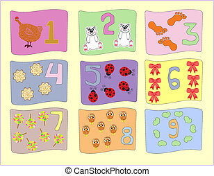 numbers with pictures for children