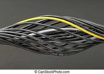 numerado, cables