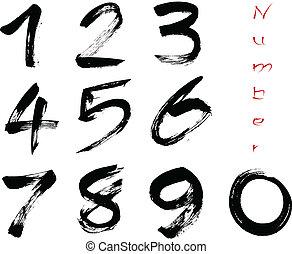 numeri, 0-9