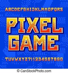 numeri, fondo., alfabeto, lettere, gioco, digitale, ...