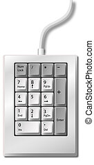 Numeric Keypad - Does your ad add up? Create...