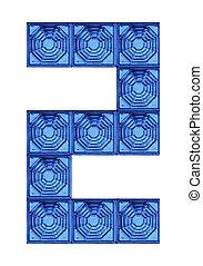 numerics and alphabets glass blocks,all