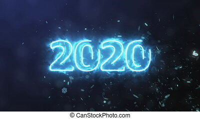 numero, 2020, plasma