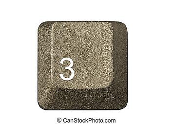 numero, simboli, chiave calcolatore, tastiera, lettera