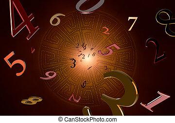 numerología, (magical, knowledge).