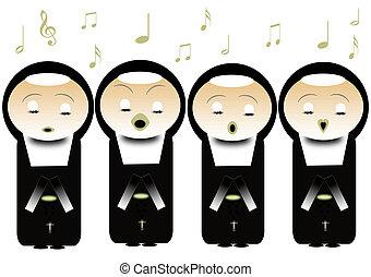nuns - singing nuns
